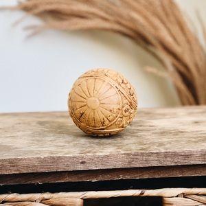 Anthropologie Decorative Ceramic Ball Sphere Decor